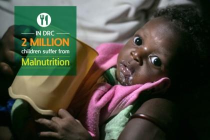 La malnutrition entrave la survie des enfants dans le Bandundu