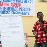 Notre campagne contre le mariage des enfants