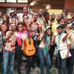 Les enfants de Kinshasa unis pour les droits de l'enfant en période de conflit armé
