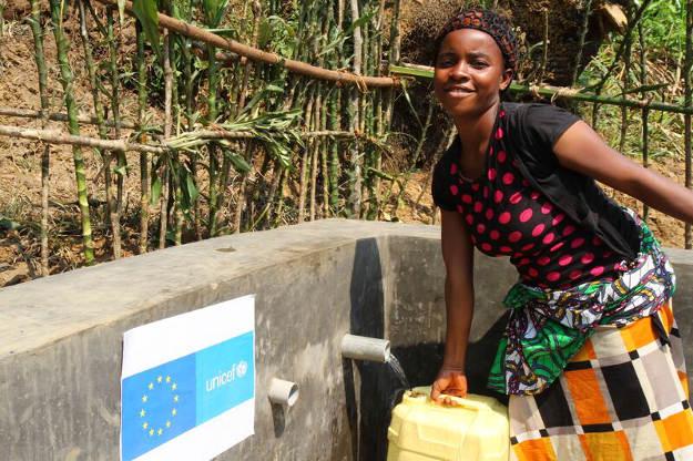 De l'eau potable et des latrines familiales pour les retournés à Mwenga