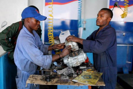 From child soldier to professional mechanic