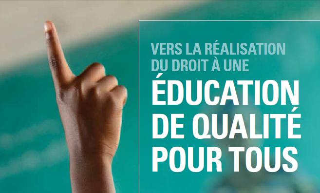 Rapport 2015 d'Analyse de la Situation de l'Education en RDC