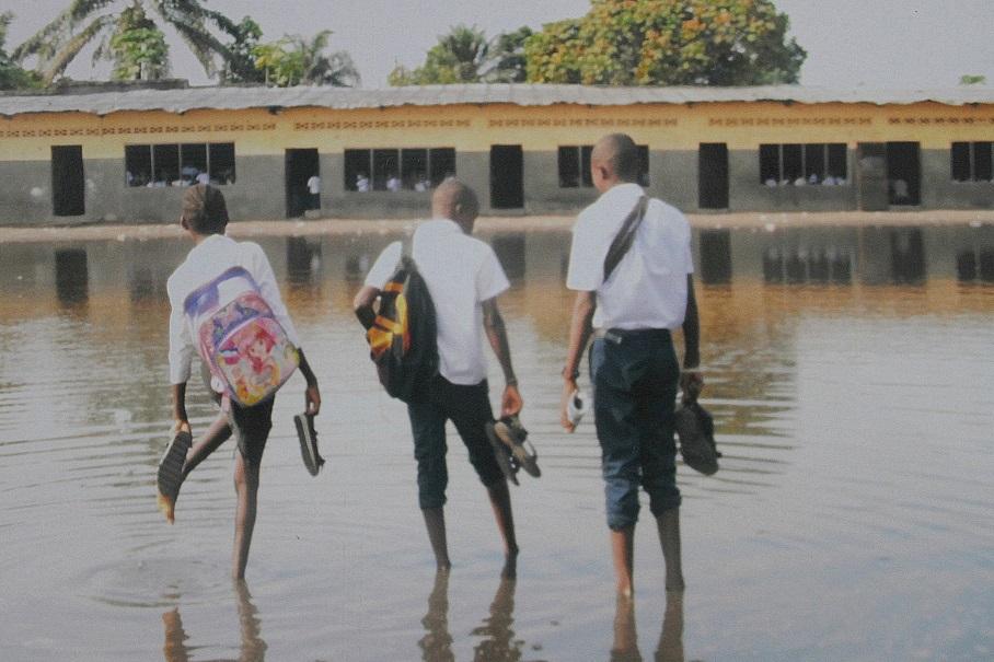 Innondations à Kimbanseke