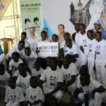 Capoeira pour la Paix en faveur des enfants sortis des forces et groupes armés