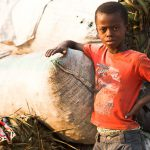 Children who have never been to school in the Virungas