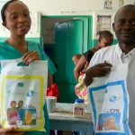 Distribution of kits to improve children's health
