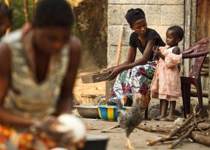 Young children facing pneumonia and diarrhoea