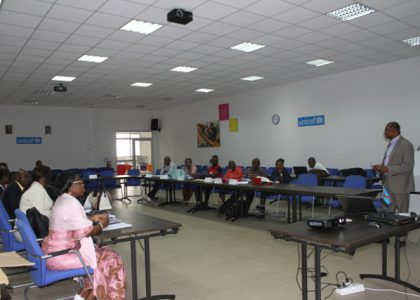 Adolescent sexual health in DRC: journalists take a training course