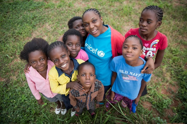 UNICEF RDC en 2016