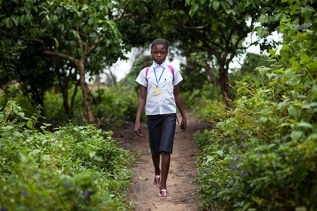 éducation des filles au Kwilu