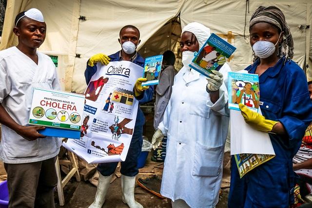 épidémie de choléra à Goma
