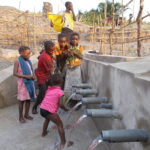 An income-generating activity for the maintenance of water sources
