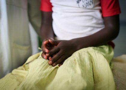 Rose, enfant combattant dans une milice au Tanganyika