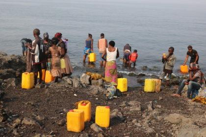 La santé des enfants menacée par l'épidémie de choléra à Goma