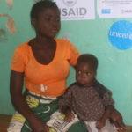 Julie, rescapée de la malnutrition