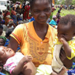 Family emergency kits for Mudumbi and her twins