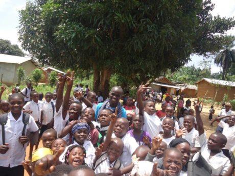 Etudier, pas facile pour les enfants de Mambasa