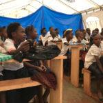 Apres la violence au Kasaï, le retour à l'école se fait sous les tentes de l'UNICEF
