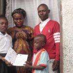 Abigael, ambassadrice pour le droit à l'identité par l'enregistrement des naissances