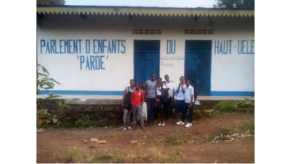 An office for the Young Reporters of Haut-Uélé