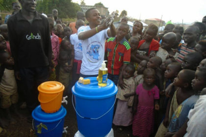 Maintaining proper hygiene practices even when displaced