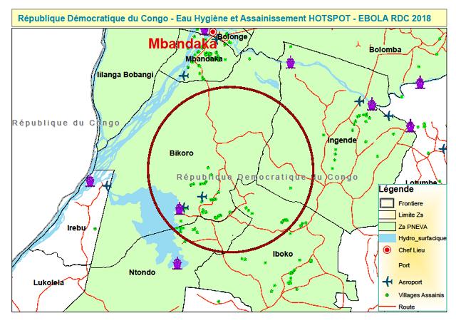 Ebolaoutbreakin Bikoro