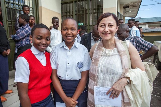 Deux Ambassadrices à la rencontre des enfants de Goma