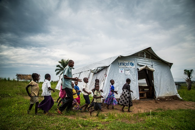 humanitarian situation in the DRC