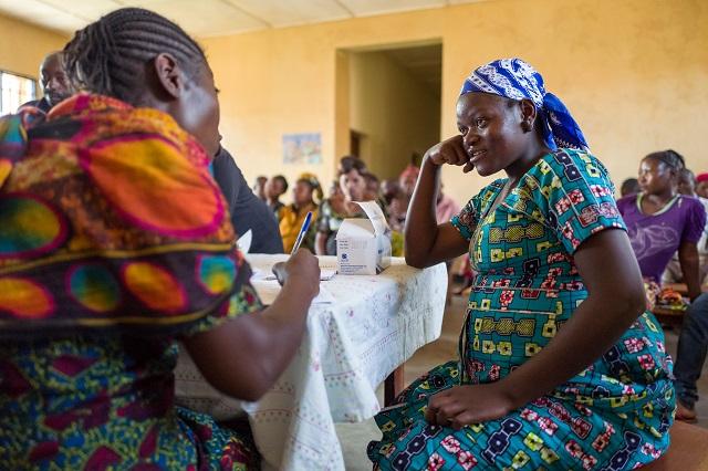 consultation prénatale en RDC