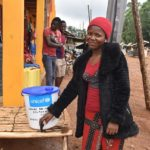 Ebola outbreak: Amani protects his community with chlorinated water