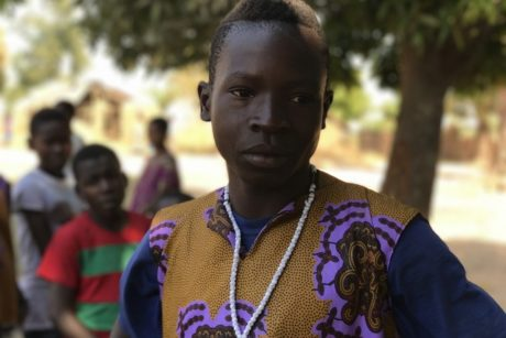 Tanganyika: a teenager committed to peace and harmony