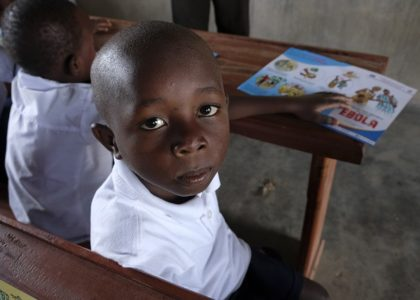 80 per cent of school children returned to school in Ebola-affected areas