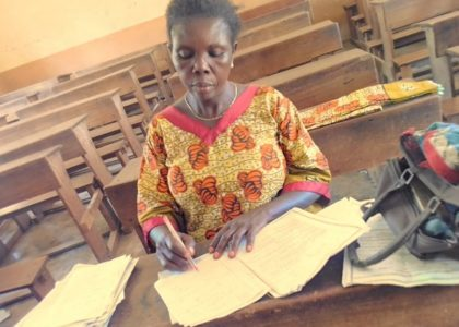 Maman Micheline, a teacher committed to peace