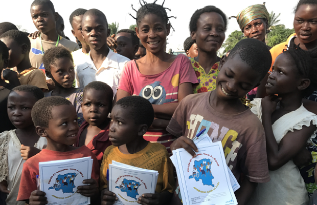 Returning to school after months of violence in Kasai