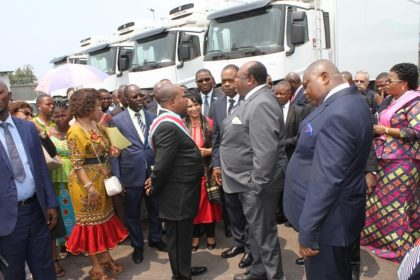 A depot to guarantee the distribution of health products to the last mile