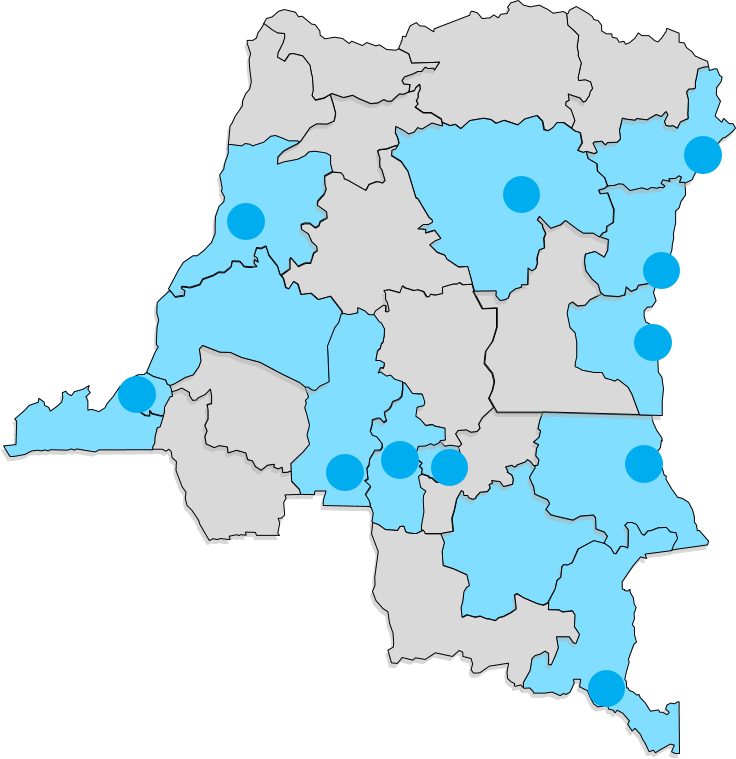 Presence of Child Reporters in DRC