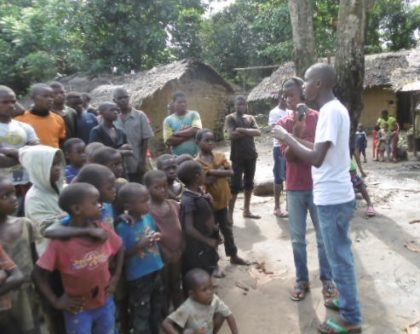 Pygmy and Bantu children have the same rights