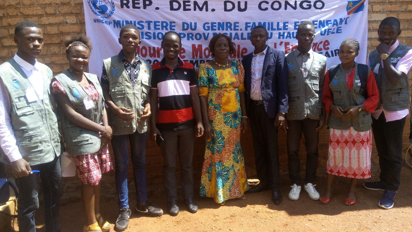 La participation pour tous dans la province du Haut-Uéle