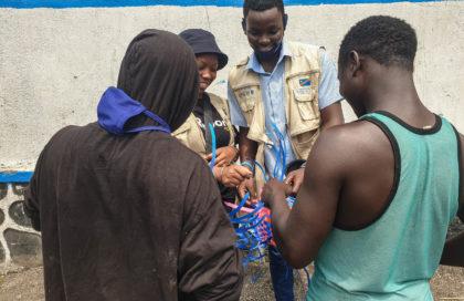 A la rencontre d'enfants sortis des groupes armés