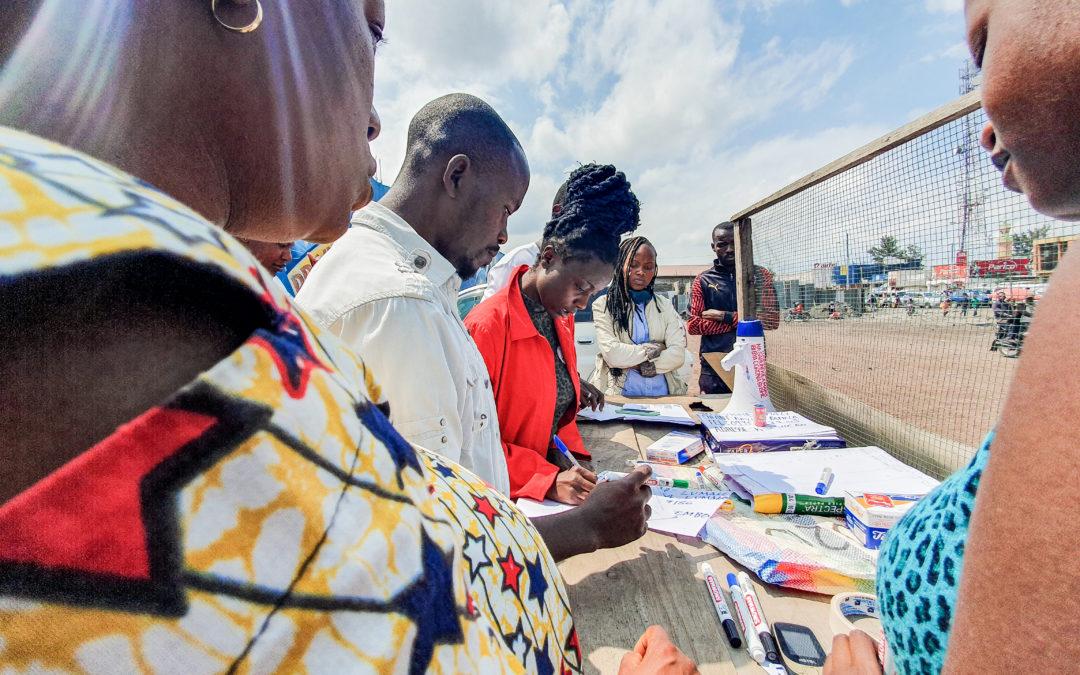 À Goma, les jeunes se mobilisent pour retrouver les enfants égarés