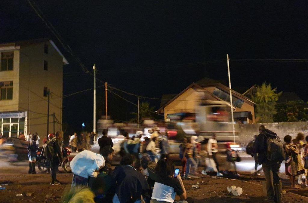 Après l'interruption des cours à Goma, beaucoup d'élèves sont devenus commerçants ou aides-maçons