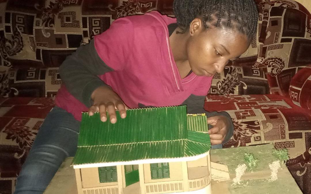 J'aimerais être la première femme architecte de ma famille