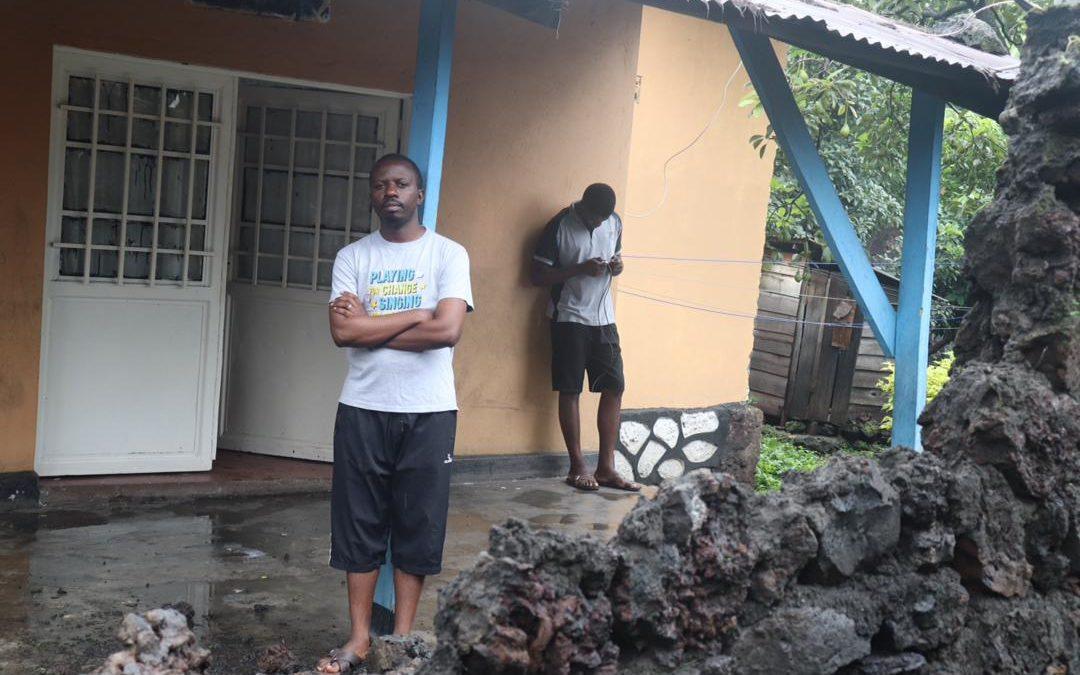 Ils ont tout perdu après l'éruption du volcan Nyiragongo