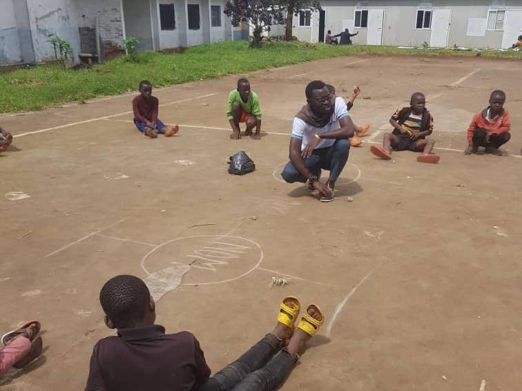 Éruption Nyirangongo : à Bukavu, les jeux aident à contourner le traumatisme chez les enfants