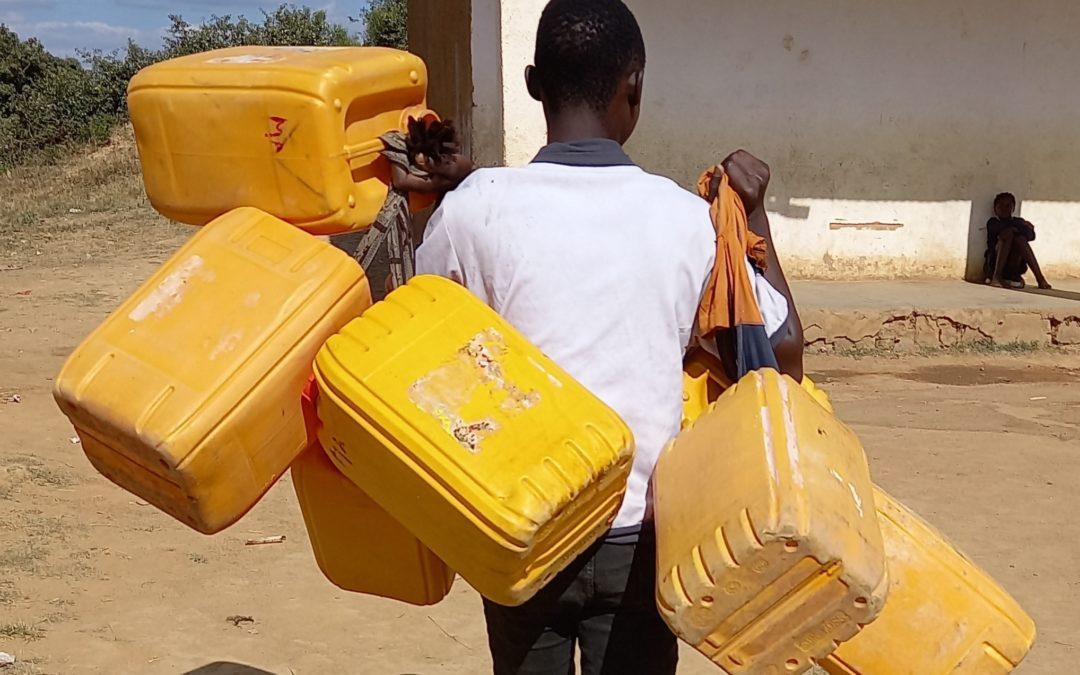 Une école à Kipushi n'a ni robinet, ni de puits d'eau, ni de toilette en plein Covid-19