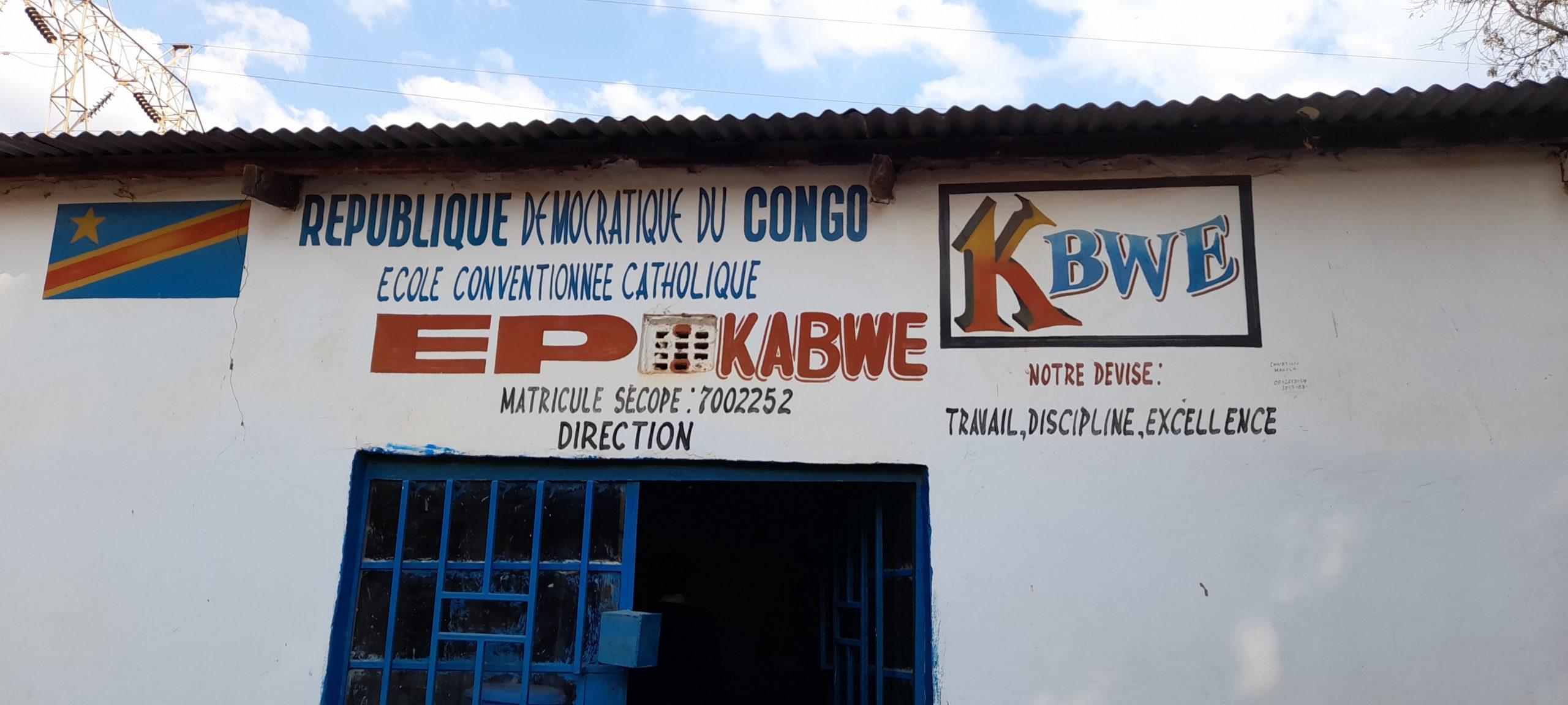 L'EP Kabwe à Kipushi où il y a plus d'élèves et moins de bancs, Kipushi 2021 @ponabana