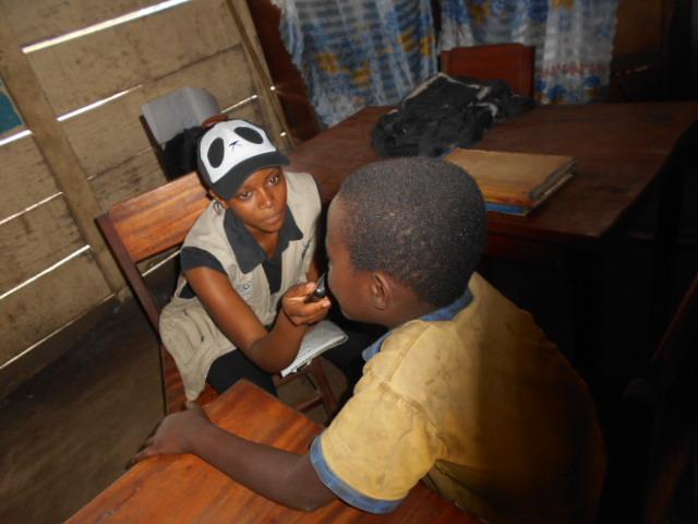 Je plaide pour les enfants malnutris dans les sites de déplacés à Bunia