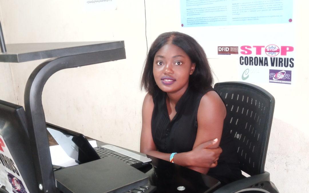D'une vie d'enfant reporter à une vie de journaliste : le parcours de Prisca Mongita à Bunia