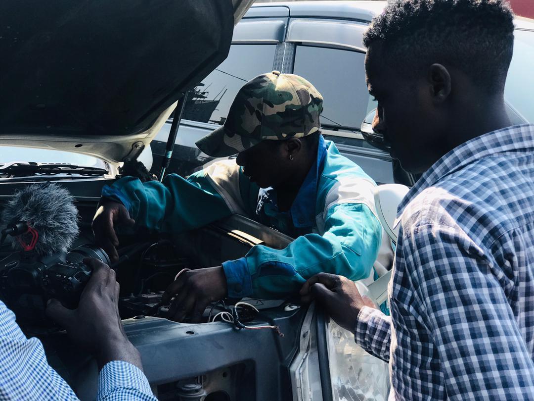Judith, 21ans jeune mécanicienne à Goma dans le Nord-Kivu @ponabana Octobre 2021